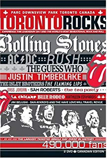 Toronto Rocks DVD cover