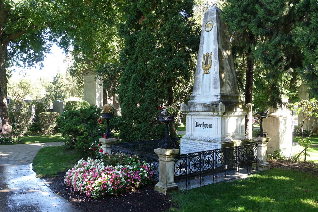 Beethoven's Grave at The Zentralfriedhof