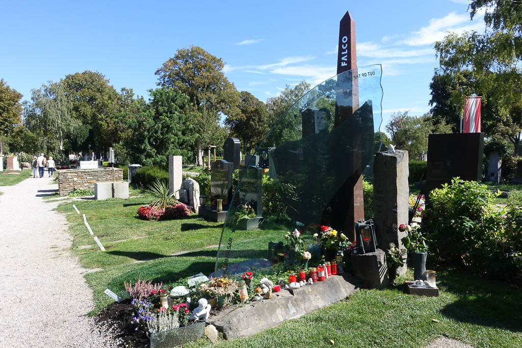 Falco's Grave at the Zentralfriedhof