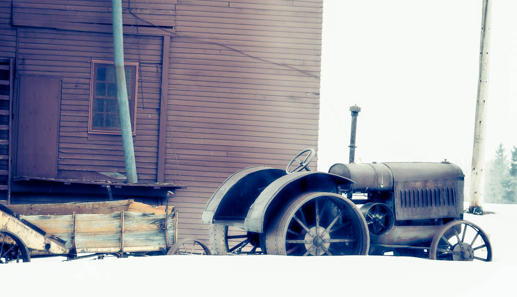 Old Harvesting Equipment