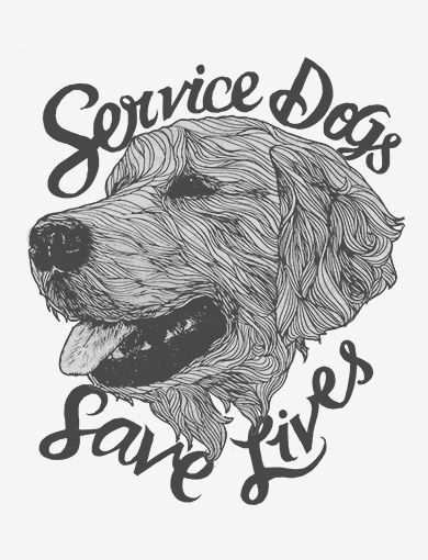 Service dogs save lives