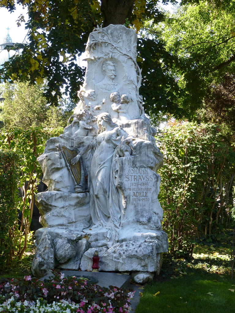 Johann Strauss's Grave at The Zentralfriedhof
