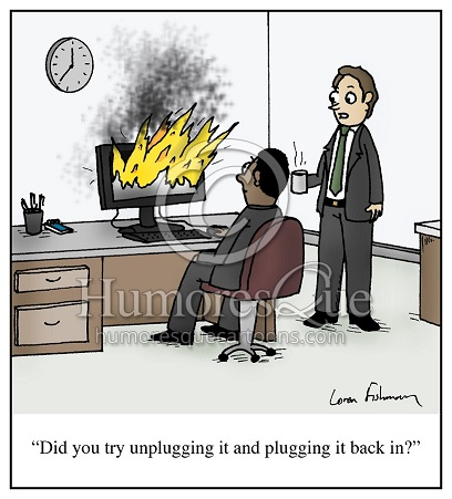UnplugComputerFire